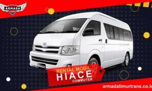 Sewa Rental Mobil Banyuwangi Hiace Commuter
