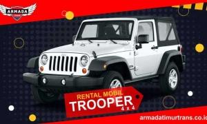 Sewa Rental Mobil Banyuwangi Jeep Trooper 4WD